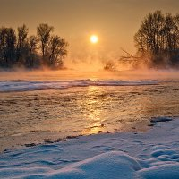 Зима на Иртыше :: Sergey Baturin