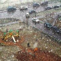 Первый снег. :: Нина