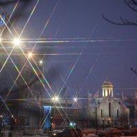 огни вечернего города :: Ярослава Бакуняева