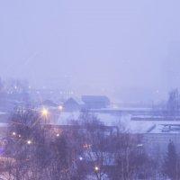 Снежная буря за окном :: Юля Колосова
