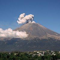 Вулкан Попокатепетль, Мексика :: Elena Spezia
