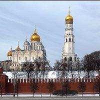 Вид на Кремль со стороны Софийской набережной :: Irina-77 Владимировна