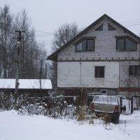Метель в посёлке :: Aнна Зарубина