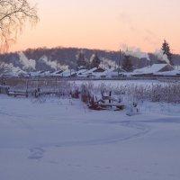 Долгая зима в России...Целый мир укрыт в снега... :: Елена Ярова