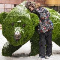 Зелёный медведь :: Павел Рощектаев