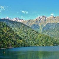 Озеро Рица. :: Олег