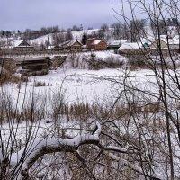 Зима в Сундыре :: Владимир Макаров