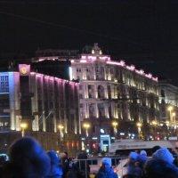 Новогодняя ночь на Тверской :: Дмитрий Никитин