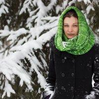 Зеленая зима :: Ольга Зеленская