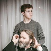 """Отец и сын (серия """"Случайный взгляд"""") :: Андрей Молчанов"""