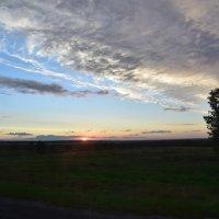Белорусский закат :: юрий Амосов