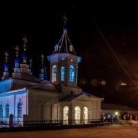 Калужская область, Село Перемышль, православный храм+электрификация всей страны :: Алексей Кошелев