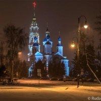 Тамбов. Казанский монастырь снежным вечером :: Сергей