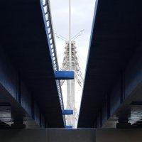 Новый мост. Вид снизу :: Галина Чепиль