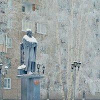 Мороз. Саша Пушкин замёрз. :: Валентина Налетова