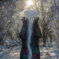 Игры со снегом :: Роман Кондрашин