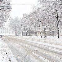 Зима в городе. :: Инна Малявина