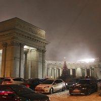 Казанский собор. Туман :: Людмила Волдыкова
