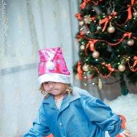 гномик в поисках Деда Мороза :: Анастасия Колмакова