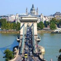 Цепной мост Сечени в Будапеште :: Денис Кораблёв