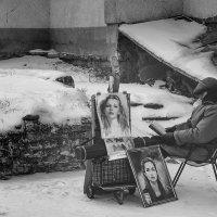 Уличный художник :: Григорий Бортник