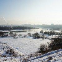 Пойма реки Москвы под храмом Иоанна Предтечи :: Елена Смолова