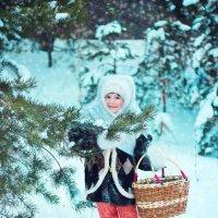 В лес за подснежниками :: Евгения Черникова