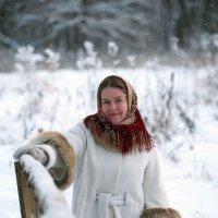 Зимний портрет :: Валерий Гришин