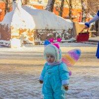 малыш - мотылек :: Дмитрий Сушкин