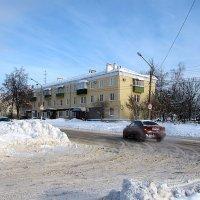 Ул. Яна Фабрициуса зимой :: Canon PowerShot SX510 HS