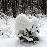 снежная тумба :: Александр Прокудин