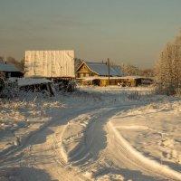 Зимнее утро.... :: Людмила Комарова