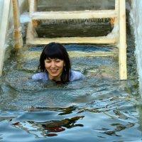 крещенские купания :: Алла Москаленко