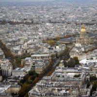 Панорама Парижа :: lady-viola2014 -