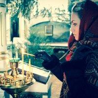 Огонек веры :: Yana Odintsova