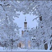 Мой город. Зимняя сказка :: Борис Гуревич