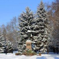 Памятник Пётру Васильевичу Волоху (30.12.1896 - 25.08.1943) :: Валентина ツ ღ✿ღ