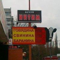 Соседство вывесок . :: Alexey YakovLev