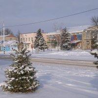 Снег в городе :: Сергей Махонин