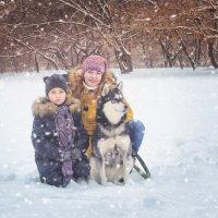 Семейная прогулка :: Ксения Довгопол