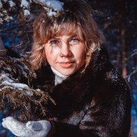 В зимнем лесу. :: Эржена Жамбалова