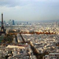 Над Парижем... :: lady-viola2014 -