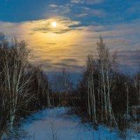Луна :: Дмитрий Гольнев