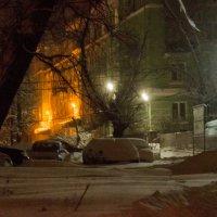 ночные Липецкие дворики... :: Алексей Бортновский