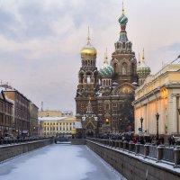 Храм Спа́са на Крови́ в Санкт-Петербурге :: Римма Покачалова