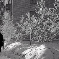 Холодный январь :: Валентин Кузьмин