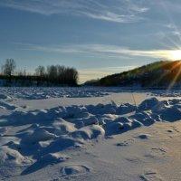 Зимний закат. :: Роберт Хак.....