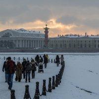 Зима закат :: VL