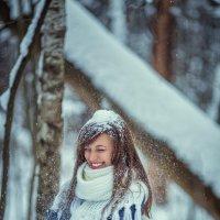 фйотосессия в зимнем лесу :: Юлия Рожкова