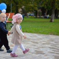 Вместе весело шагать..... ) :: Елена Ушакова